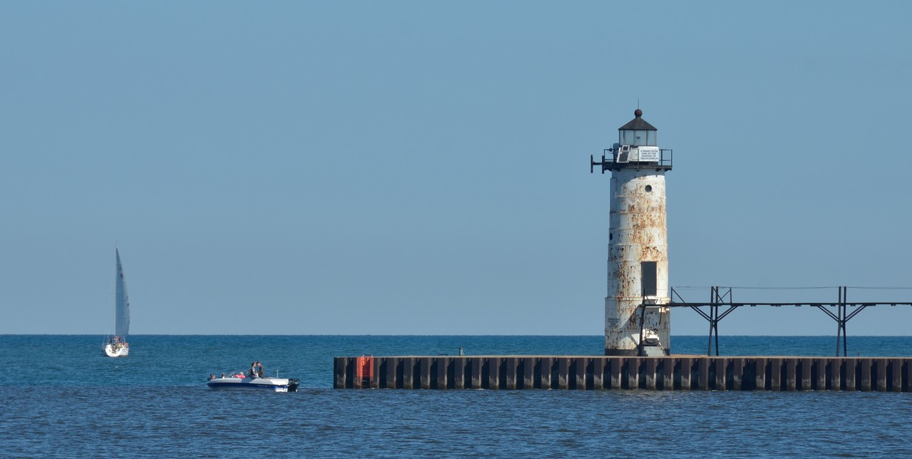Manistee North Pier Lighthouse