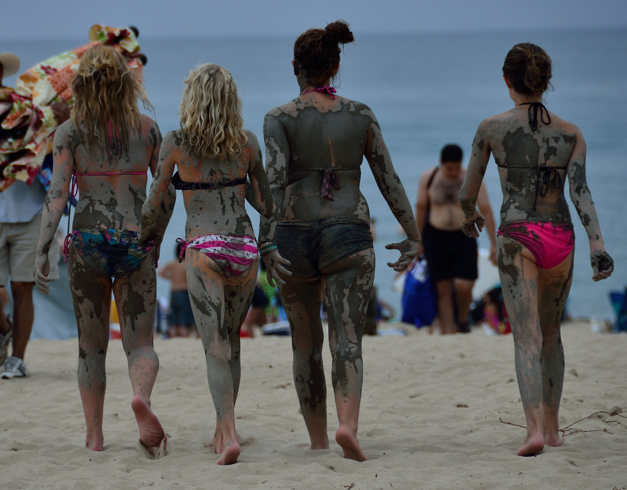 Back from the mud pit at Warren Dunes