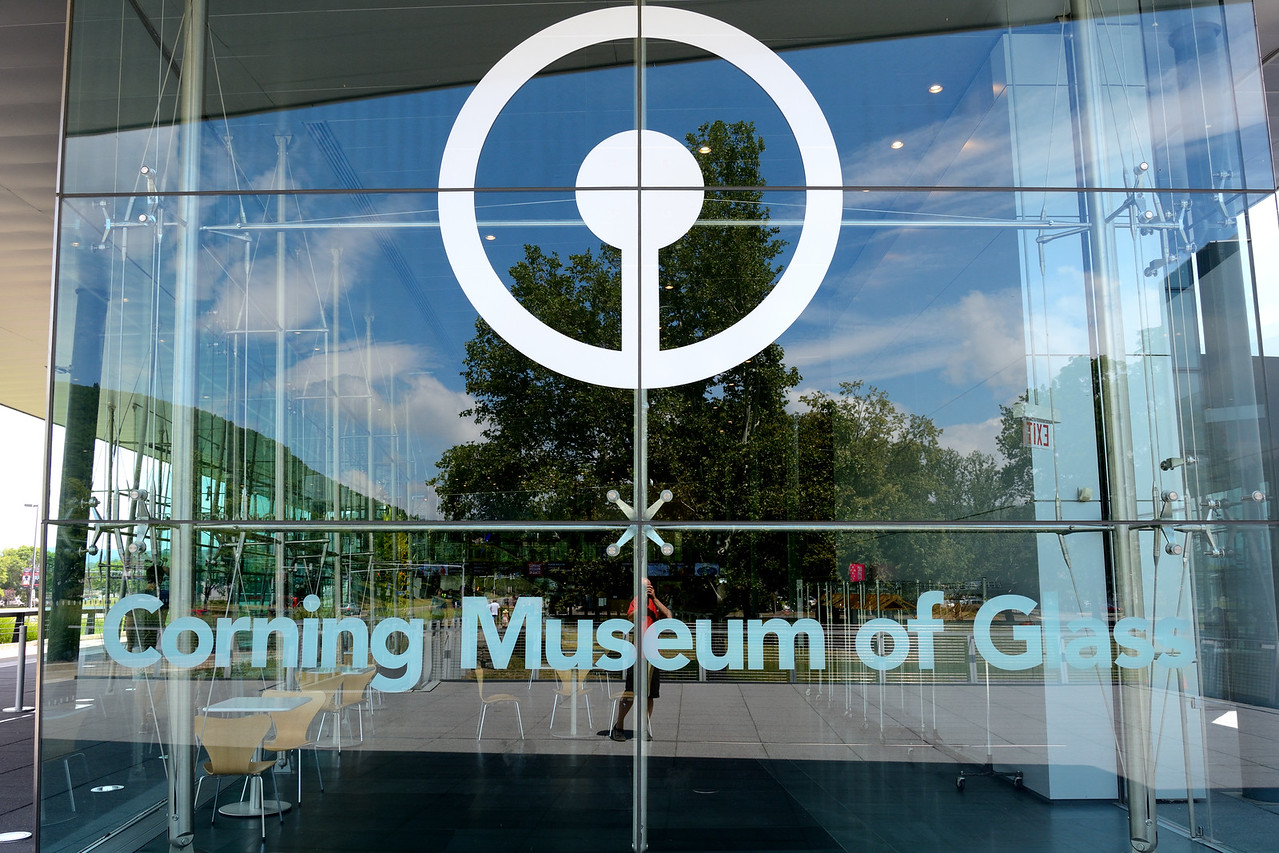 Museum of Glass in Corning, NY