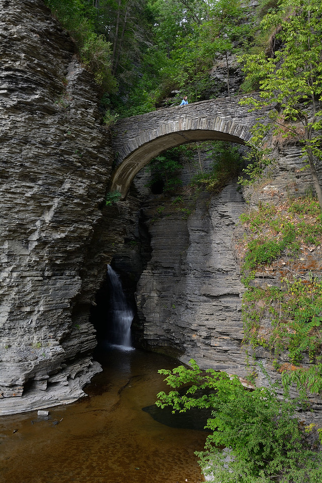 Watkins Glen Entrance Bridge