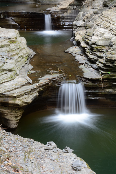 Watkins Glen Gorge Waterfalls