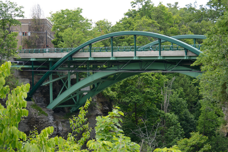 Bridge on Cornell University Campus