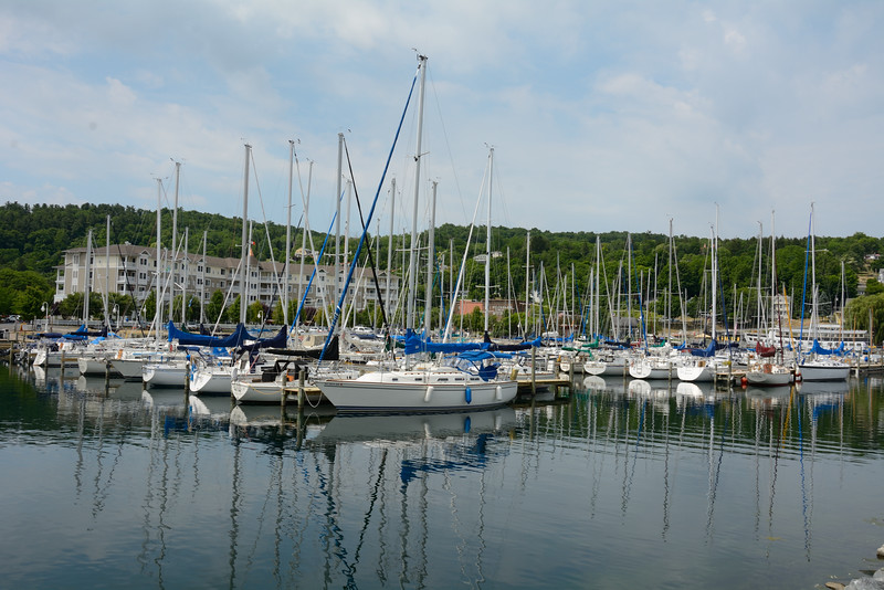 Sailboats at Watkins Glen