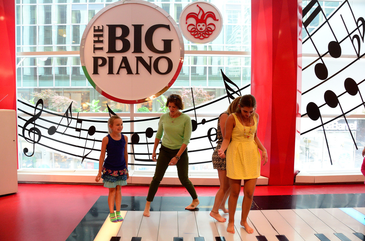 """Giant Piano made famous in the 1988 movie """"BIG"""""""