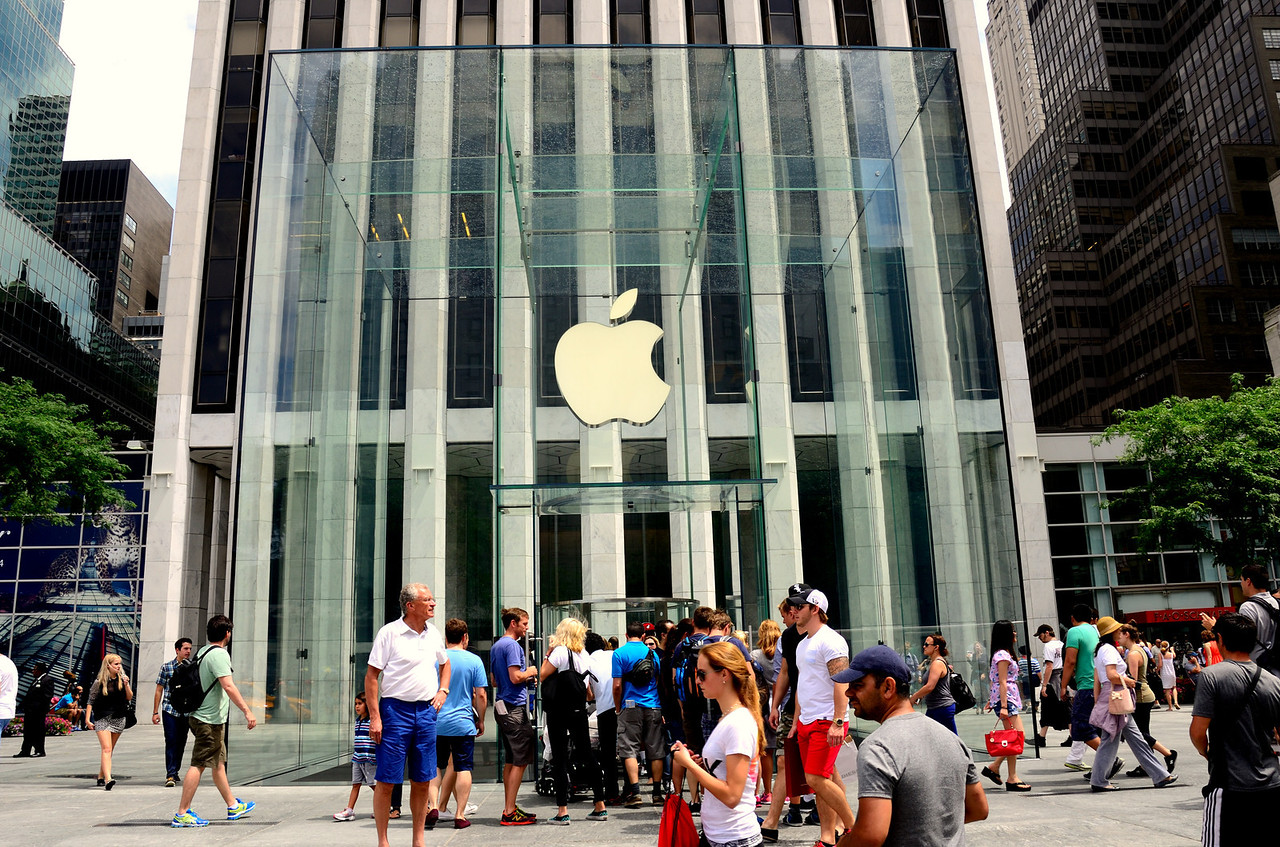 Apple Store in the Big Apple