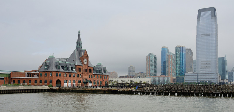 The Central Railroad of New Jersey Terminal and Jersey City