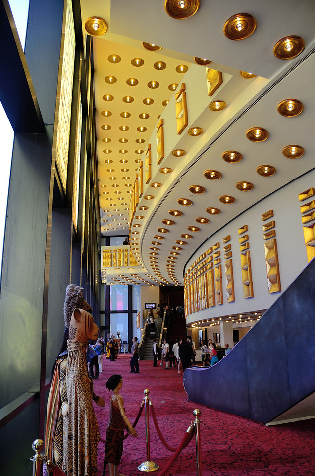 Minskoff Theatre Lobby