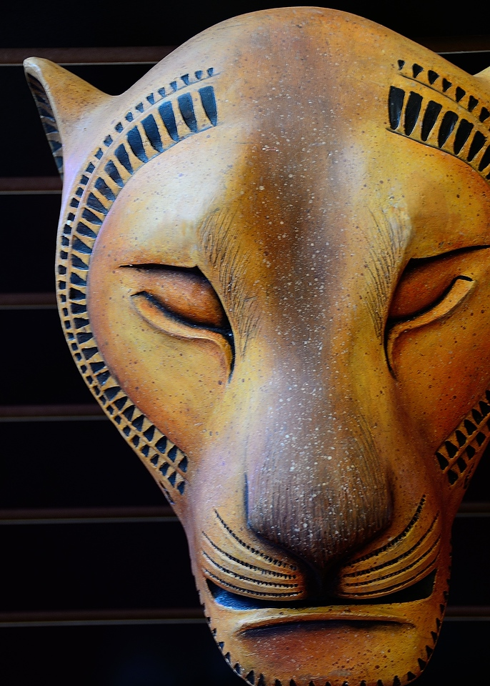 Mask at the Lion King