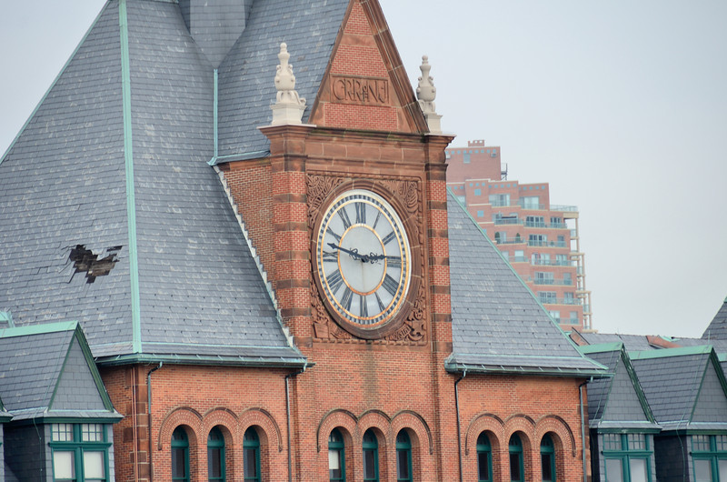 The Central Railroad of New Jersey Terminal Clock Tower