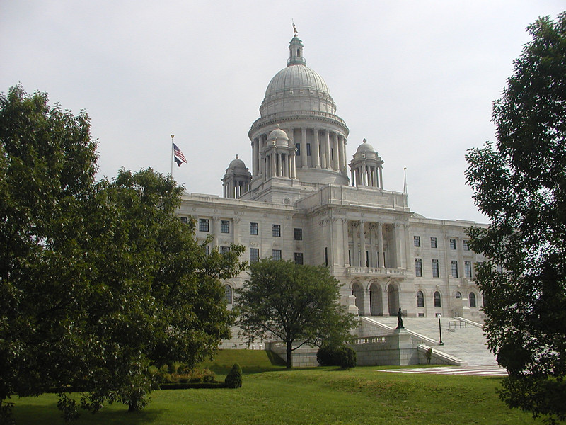 The current State House is Rhode Island's seventh state house and the second in Providence after the Old Rhode Island State House. It was designed by the architectural firm of McKim, Mead, and White and constructed from 1895 to 1904.