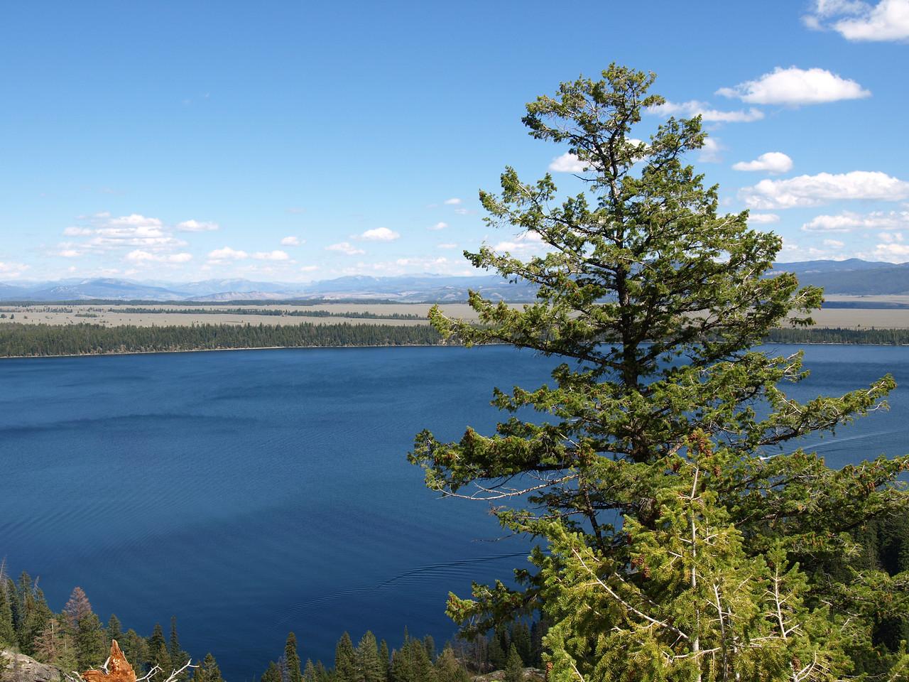 Jenny Lake from Inspiration Point