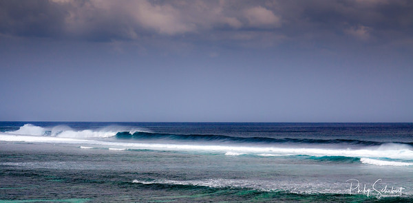 Indian Ocean Swells on the Southern Tip of Mauritius
