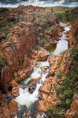 Champagne Falls - Keep River National Park, NT