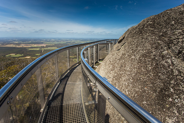 """Granite Skywalk"" - Porongorups National Park, Albany, Western Australia - 2014"