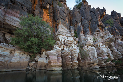 """Devonian Cliffs"" - Giekie Gorge, The Kimberley, Western Australia"
