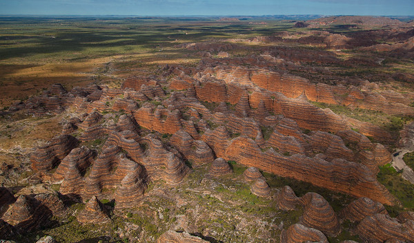 The Southern Edge of the Bungles Massif