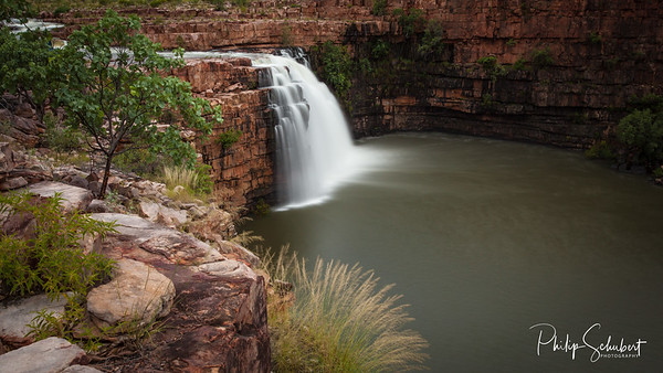 Waterfall on the De Lancourt River - North East Kimberley