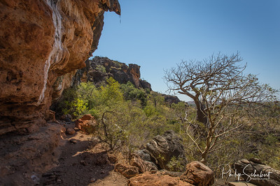 The Napier Range in the Kimberley has many caves which are decorated with ancient art of the local indigenous Bunda People.