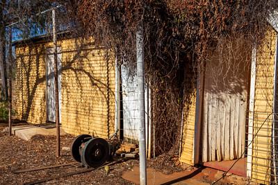 Images of the now abandoned Muggon Station in the Murchison of Western Australia