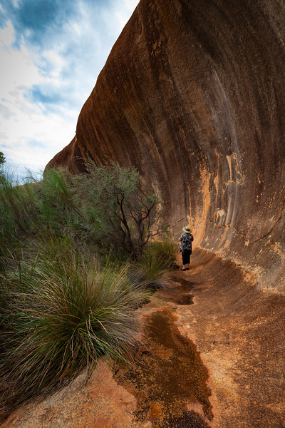 """Wave Rock Formation"""