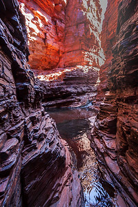 Views in Weano Gorge, Karijini National Park, Western Australia.