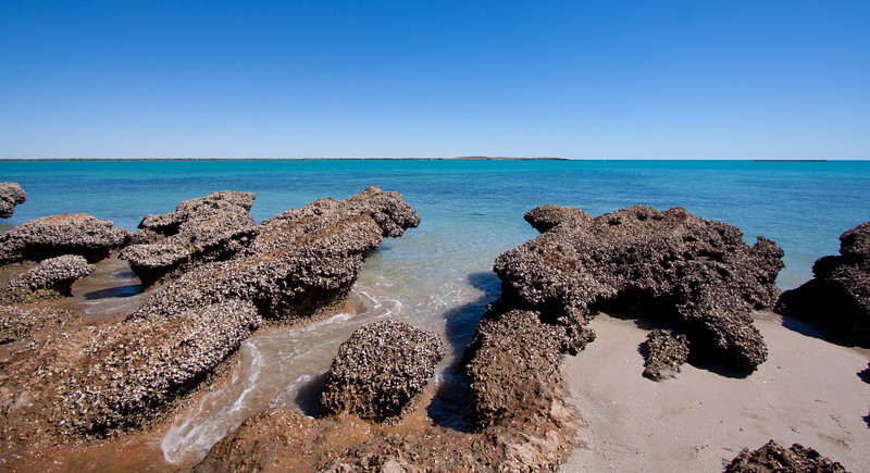 Rock Formations at Mid Tide