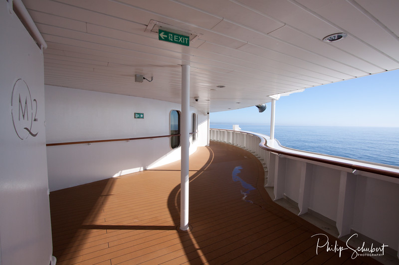 Images on and around the Queen Mary 2