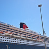 The Queen Mary 2 in Capetown on 26th January 2012