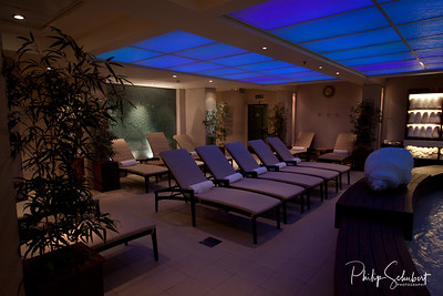 Relaxation Lounges in the Hydrotherapy Suite