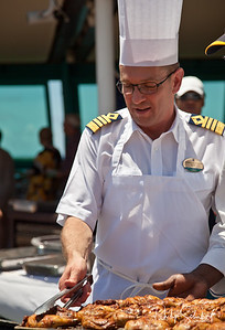"""The Captain Earning his Keep - """"Radiance of the Seas."""""""