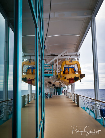 "Promenade Walk - ""Radiance of the Seas."""