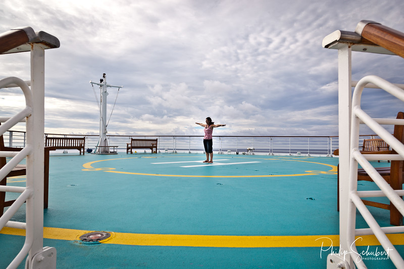 """Helicopter Chris - """"Radiance of the Seas."""""""