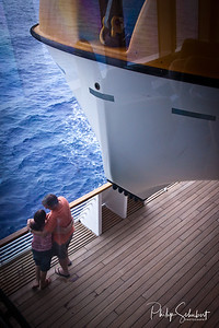 "At Sea - ""Radiance of the Seas."""