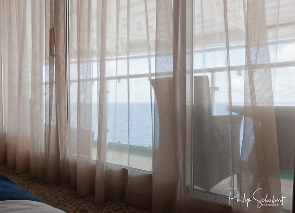 """Pillow View - """"Radiance of the Seas."""""""