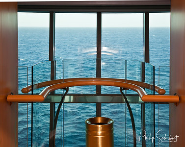 "Lift View - ""Radiance of the Seas."""