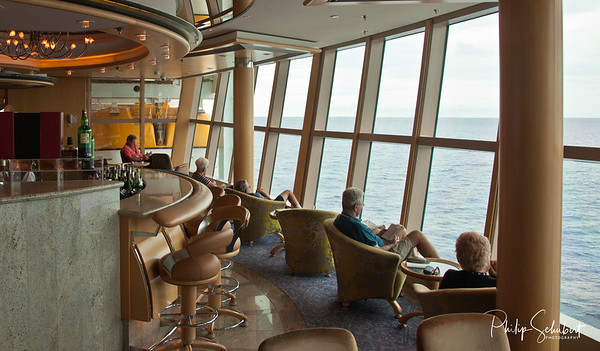 "A Nice Place for a Champagne - ""Radiance of the Seas."""