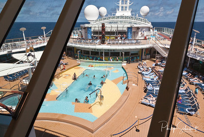 "Deck Pool - ""Radiance of The Seas."""