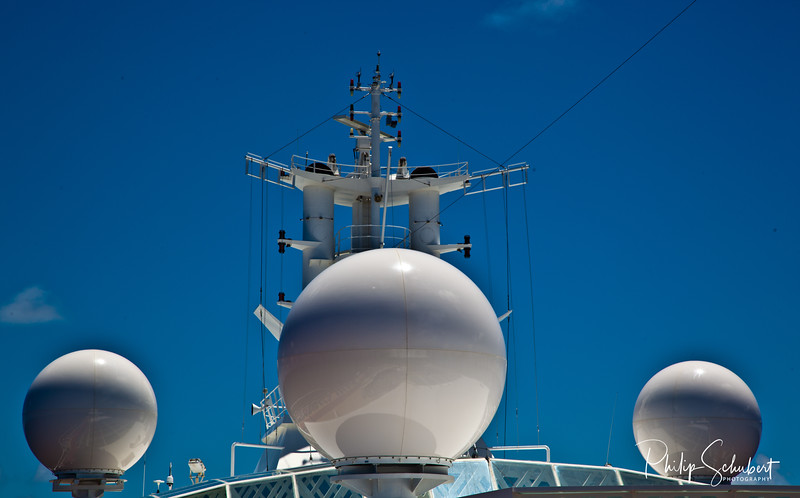 """Communications at Sea - """"Radiance of the Seas."""""""