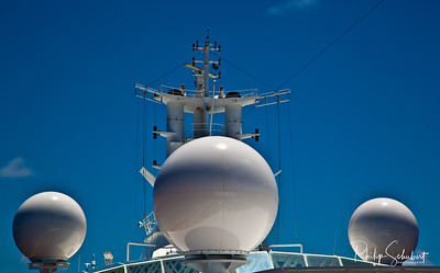 "Communications at Sea - ""Radiance of the Seas."""