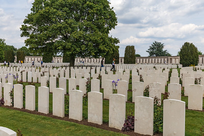 Yypres Tyne Cot War Cemetary, Ypres, Belgium