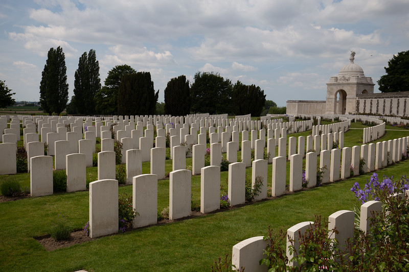Yypres Tyne Cot War Cemetary, Ypres, Belgium