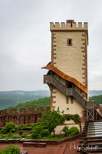 External views of the Wartburg Castle in Eisenach, Germany.