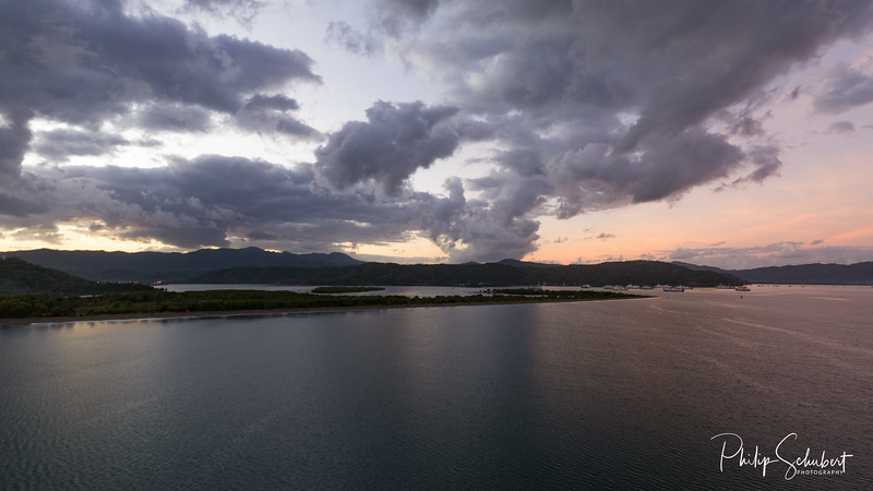 Lembar Harbour , Lombok - Sunrise