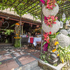 Ubud Art Market and Restaurants, Bali, Indonesia