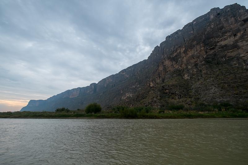 Santa Elena Canyon & Rio Grande