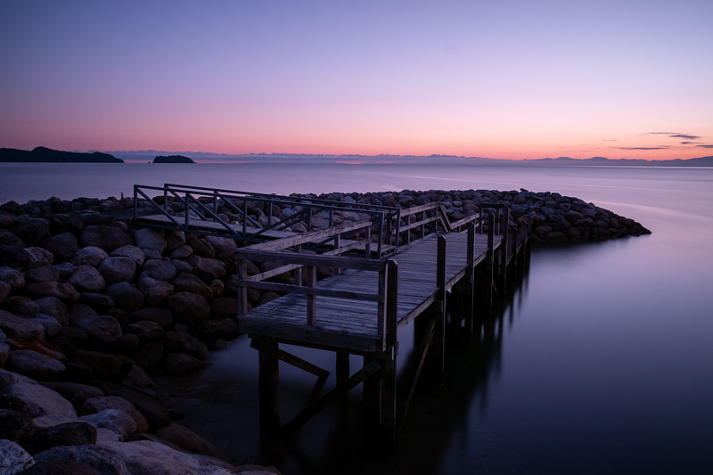 First sunrise shot from the trip at Abel Tasman National Park