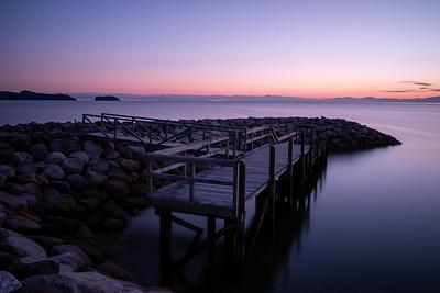 First sunrise shot from the trip at Abel Tasman National Park
