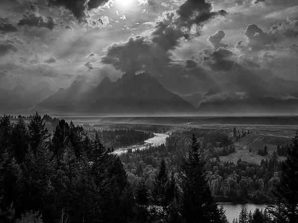 Grand Tetons & Snake River from the Snake River Overlook