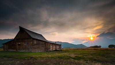 Barn at Mormon Row, Grand Teton National Park