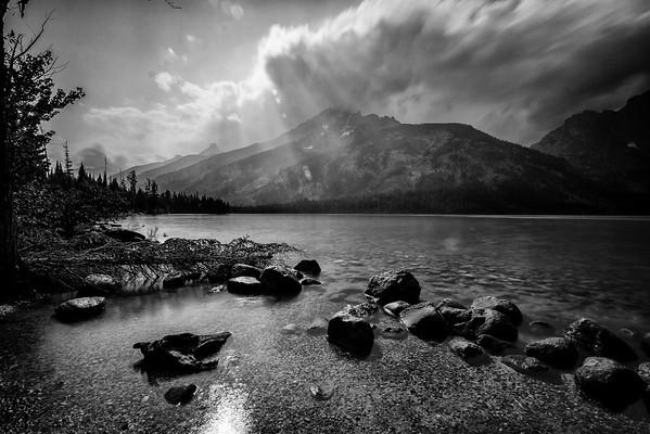 View from Jenny Lake, Grand Teton National Park